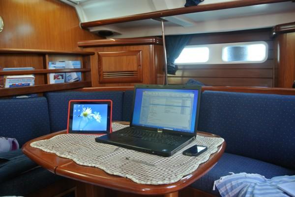 Zomerkantoor Ron iPad als tweede monitor
