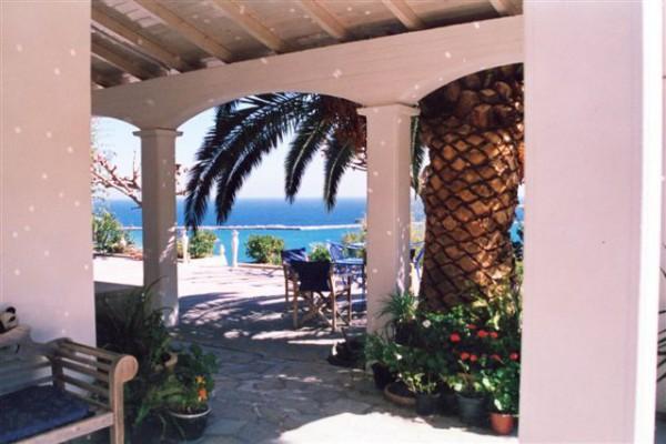 Het huis in Kimi op Evia