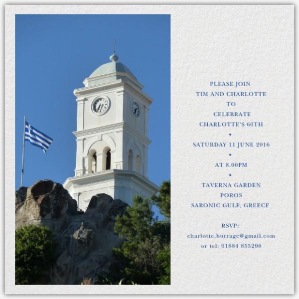 Heel cool om jet verjaardag in Griekenland te vieren en allemaal zeilers uit te nodigen als je in Engeland woont. We attend!